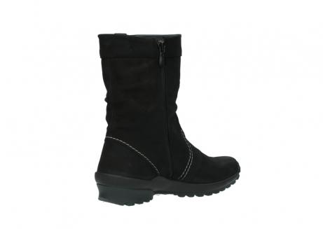 wolky halfhoge laarzen 1732 bryce 500 zwart geolied leer_10