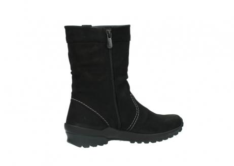 wolky halfhoge laarzen 1732 bryce 500 zwart geolied leer_11