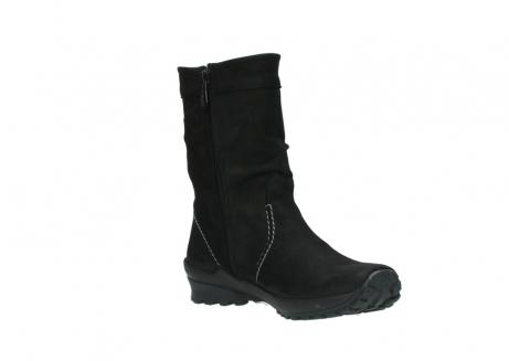 wolky halfhoge laarzen 1732 bryce 500 zwart geolied leer_16