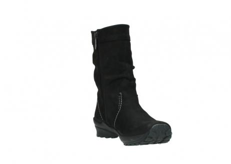 wolky halfhoge laarzen 1732 bryce 500 zwart geolied leer_17