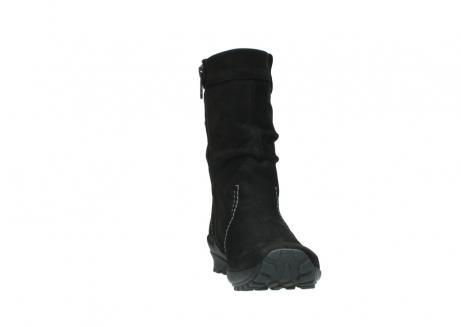 wolky halfhoge laarzen 1732 bryce 500 zwart geolied leer_18