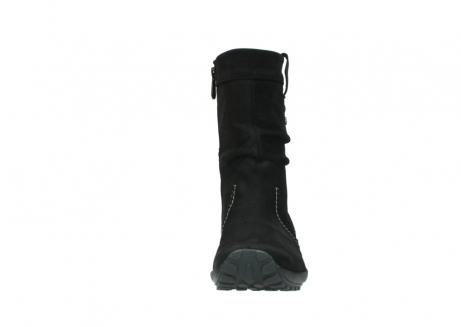 wolky halfhoge laarzen 1732 bryce 500 zwart geolied leer_19