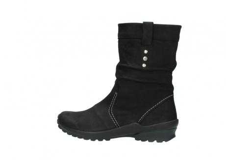 wolky halfhoge laarzen 1732 bryce 500 zwart geolied leer_2