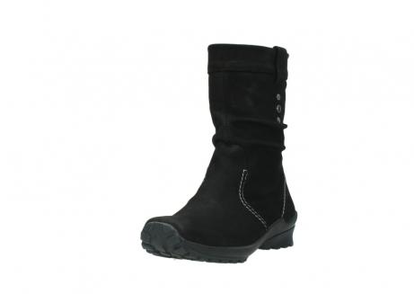 wolky halfhoge laarzen 1732 bryce 500 zwart geolied leer_21