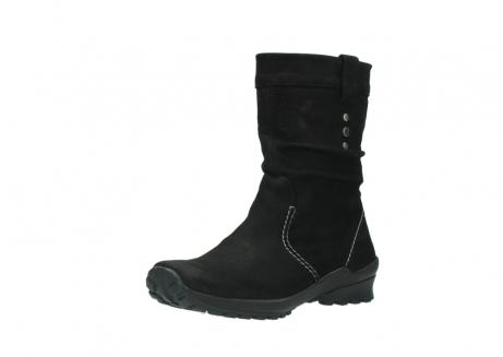 wolky halfhoge laarzen 1732 bryce 500 zwart geolied leer_22