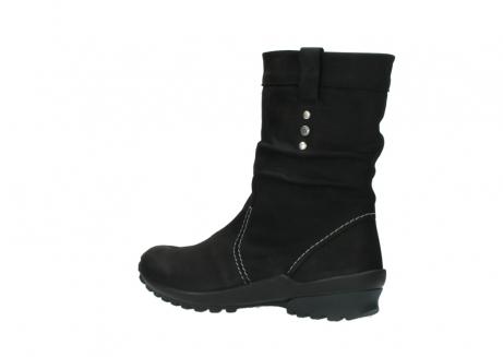 wolky halfhoge laarzen 1732 bryce 500 zwart geolied leer_3