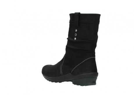 wolky halfhoge laarzen 1732 bryce 500 zwart geolied leer_4