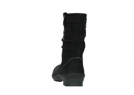 wolky halfhoge laarzen 1732 bryce 500 zwart geolied leer_6