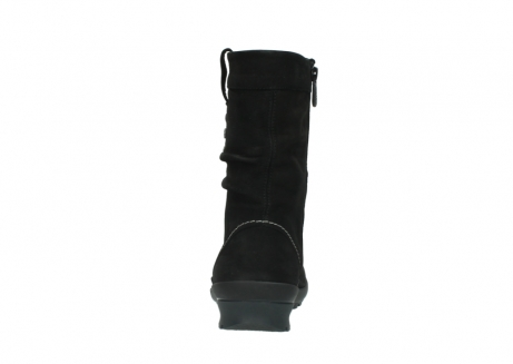 wolky halfhoge laarzen 1732 bryce 500 zwart geolied leer_7