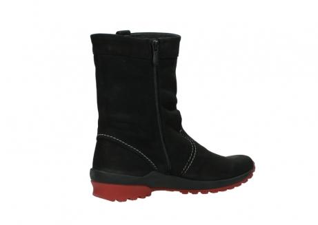 wolky halfhoge laarzen 1732 bryce 502 zwart rood geolied leer_11