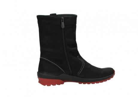 wolky halfhoge laarzen 1732 bryce 502 zwart rood geolied leer_12