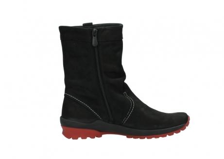 wolky halfhoge laarzen 1732 bryce 502 zwart rood geolied leer_13