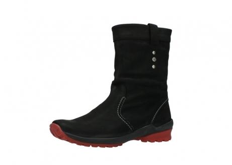 wolky halfhoge laarzen 1732 bryce 502 zwart rood geolied leer_23