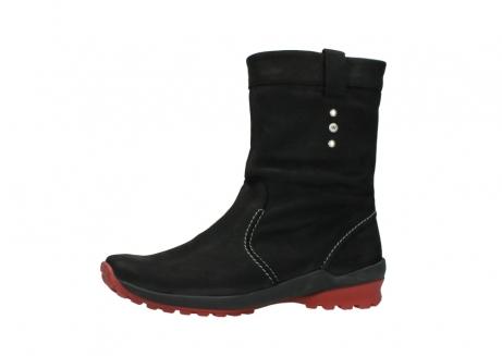 wolky halfhoge laarzen 1732 bryce 502 zwart rood geolied leer_24