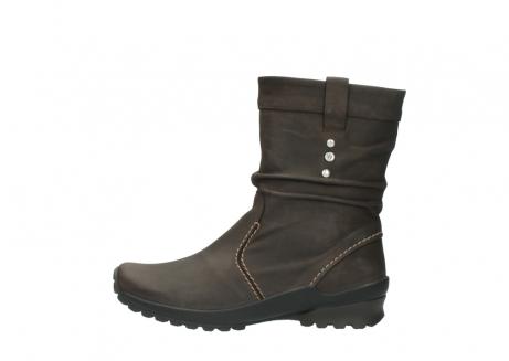 wolky halfhoge laarzen 1732 bryce 530 bruin geolied leer_1