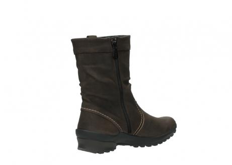 wolky halfhoge laarzen 1732 bryce 530 bruin geolied leer_10