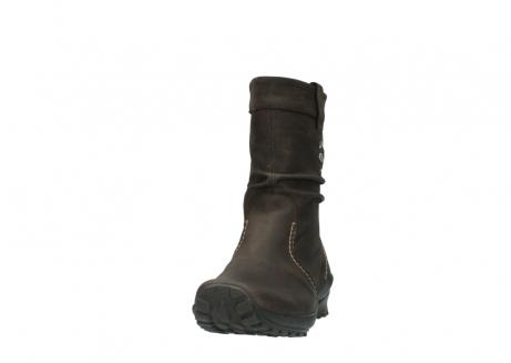 wolky halfhoge laarzen 1732 bryce 530 bruin geolied leer_20