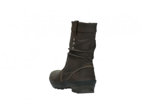 wolky halfhoge laarzen 1732 bryce 530 bruin geolied leer_5