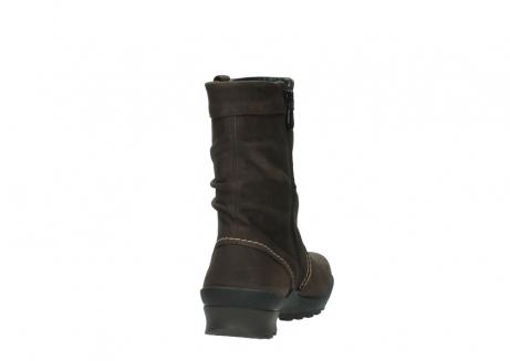 wolky halfhoge laarzen 1732 bryce 530 bruin geolied leer_8