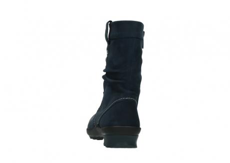 wolky halbhohe stiefel 1732 bryce 580 dunkelblau geoltes leder_6