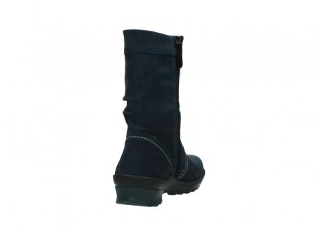 wolky halbhohe stiefel 1732 bryce 580 dunkelblau geoltes leder_8