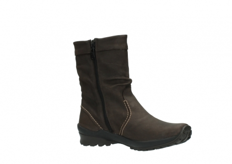 wolky halbhohe stiefel 1736 bryce cw 530 braun geoltes leder cold winter warmfutter_15