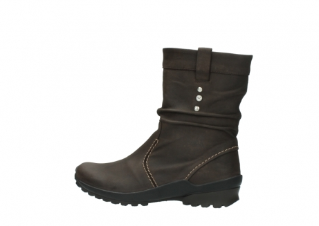 wolky halbhohe stiefel 1736 bryce cw 530 braun geoltes leder cold winter warmfutter_2