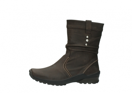 wolky halbhohe stiefel 1736 bryce cw 530 braun geoltes leder cold winter warmfutter_24