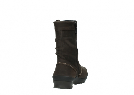 wolky halbhohe stiefel 1736 bryce cw 530 braun geoltes leder cold winter warmfutter_8