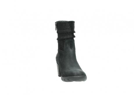 wolky halfhoge laarzen 3676 colville 400 zwart geolied suede_18