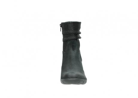 wolky halfhoge laarzen 3676 colville 400 zwart geolied suede_19
