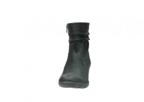 wolky halfhoge laarzen 3676 colville 400 zwart geolied suede_20