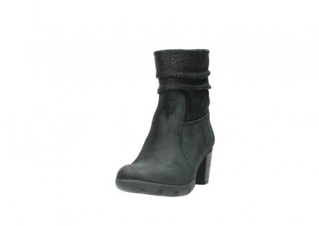 wolky halfhoge laarzen 3676 colville 400 zwart geolied suede_21
