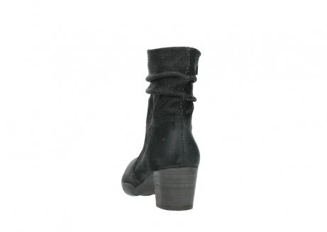 wolky halfhoge laarzen 3676 colville 400 zwart geolied suede_6