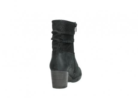 wolky halfhoge laarzen 3676 colville 400 zwart geolied suede_8