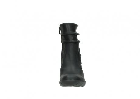 wolky halfhoge laarzen 3676 colville 500 leontien zwart geolied leer_19