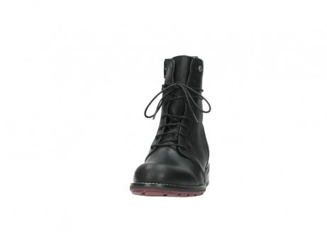 wolky halfhoge laarzen 4432 murray 500 zwart geolied leer_20
