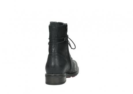 wolky halfhoge laarzen 4432 murray 500 zwart geolied leer_8