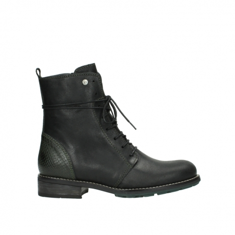 wolky halbhohe stiefel 4432 murray 573 forest grun geoltes leder