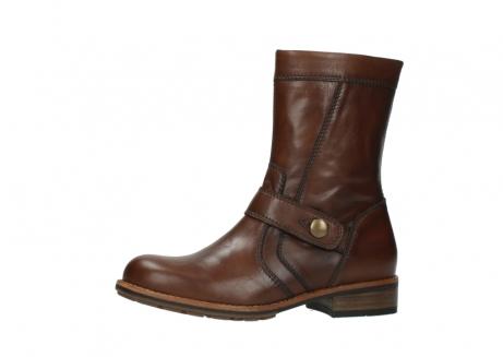 wolky halfhoge laarzen 4435 mason cw 243 cognac leer cold winter vachtvoering_2