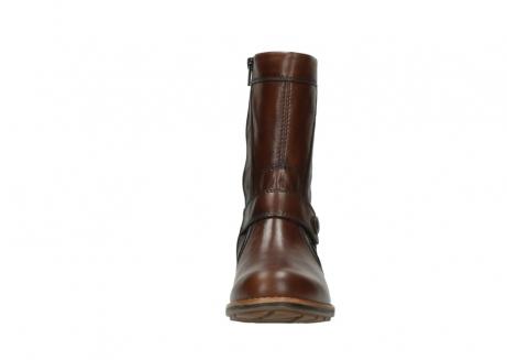 wolky halfhoge laarzen 4435 mason cw 243 cognac leer cold winter vachtvoering_21