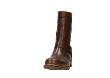 wolky halfhoge laarzen 4435 mason cw 243 cognac leer cold winter vachtvoering_22