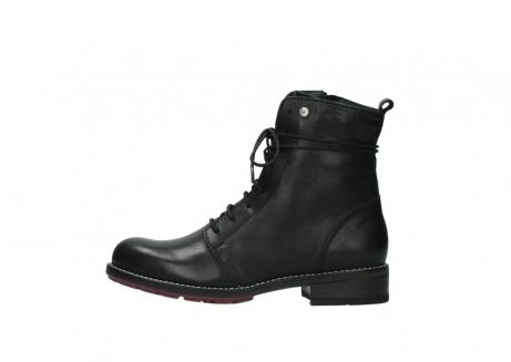 wolky halfhoge laarzen 4438 murray cw 200 zwart leer cold winter vachtvoering_1