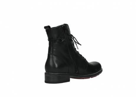 wolky halfhoge laarzen 4438 murray cw 200 zwart leer cold winter vachtvoering_10