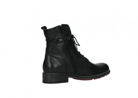 wolky halfhoge laarzen 4438 murray cw 200 zwart leer cold winter vachtvoering_11