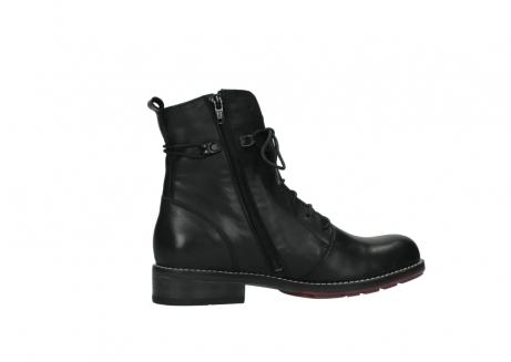 wolky halfhoge laarzen 4438 murray cw 200 zwart leer cold winter vachtvoering_12