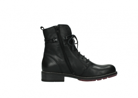 wolky halfhoge laarzen 4438 murray cw 200 zwart leer cold winter vachtvoering_13