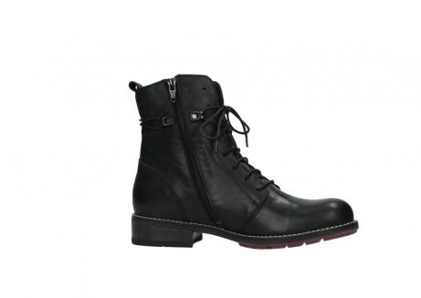 wolky halfhoge laarzen 4438 murray cw 200 zwart leer cold winter vachtvoering_14