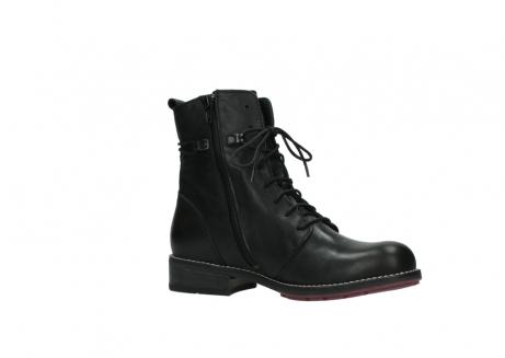 wolky halfhoge laarzen 4438 murray cw 200 zwart leer cold winter vachtvoering_15