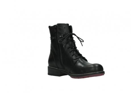 wolky halfhoge laarzen 4438 murray cw 200 zwart leer cold winter vachtvoering_16